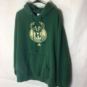 Men's Milwaukee Bucks adidas Hoodie